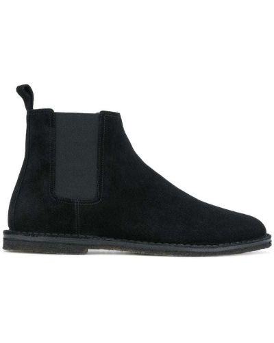 Ботинки челси кожаные Saint Laurent