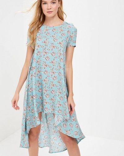 Бирюзовое платье Trendyangel