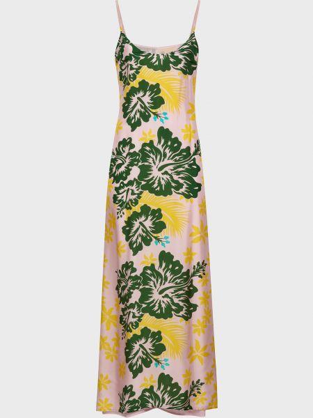 Шелковое платье Michel Klein