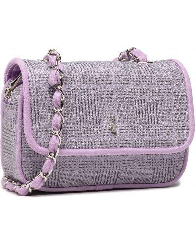Fioletowa klasyczna torebka Menbur