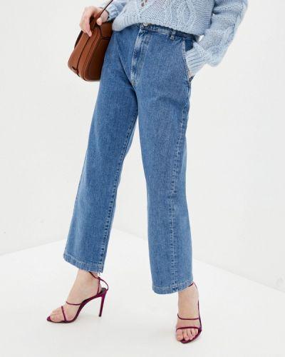 Широкие джинсы - синие 3x1