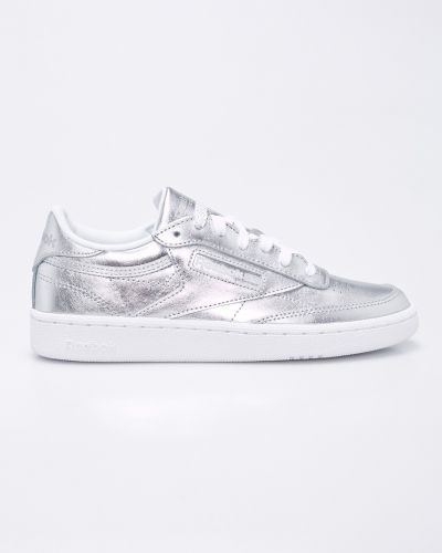 Кроссовки серебряного цвета Reebok