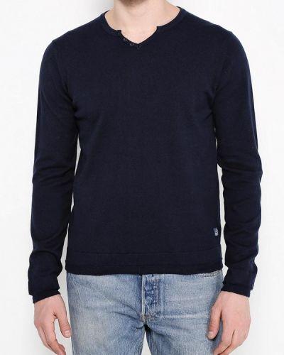 Пуловер синий Fresh Brand
