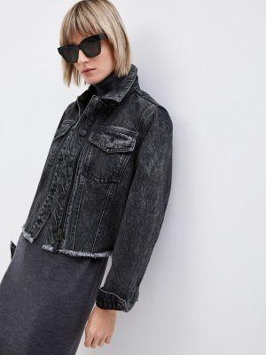 Джинсовая куртка - черная Armani Exchange