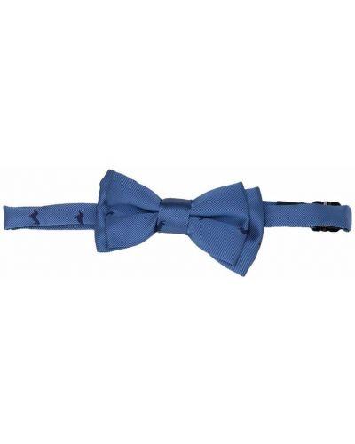 Синий галстук-бабочка с бабочкой на крючках Harmont & Blaine Junior