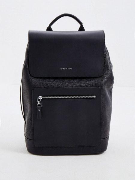 Кожаный рюкзак - черный Michael Kors