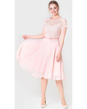 Вечернее платье летнее с поясом Filigrana