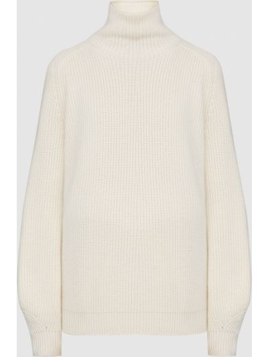 Бежевый кашемировый свитер Loro Piana