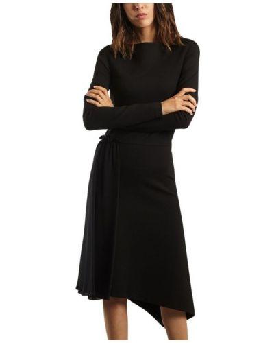 Sukienka midi koronkowa na co dzień sznurowana Cacharel