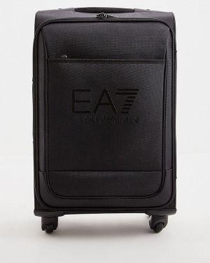 Чемодан черный Ea7