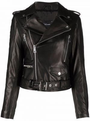 Черная длинная куртка Manokhi