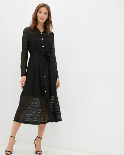Платье рубашка - черное By Swan