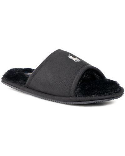 Sandały - czarne Polo Ralph Lauren