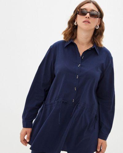 Блузка - синяя Silver String