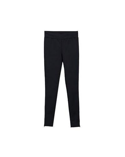 Черные брюки летние Flavio Castellani