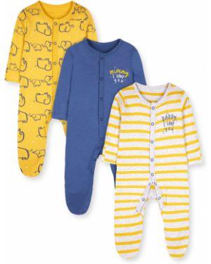 Ползунки синие желтый Mothercare