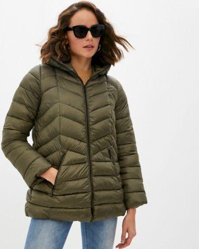 Зеленая утепленная куртка Iblues