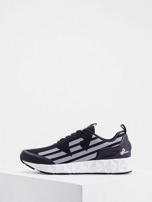 Черные резиновые кроссовки Ea7