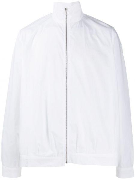 Белая длинная куртка Camiel Fortgens