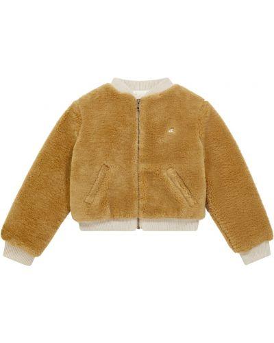 Куртка из искусственного меха - коричневая Bonpoint