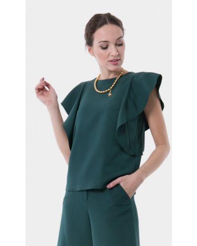 Блузка зеленый Vladi Collection