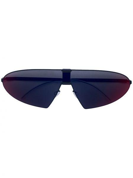 Солнцезащитные очки с градиентом хаки Mykita