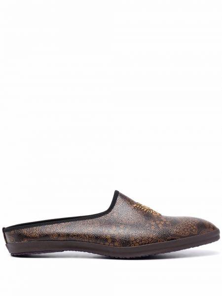 Brązowe loafers Needles
