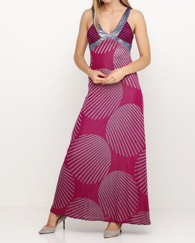 Платье в полоску - розовое Custo Barcelona