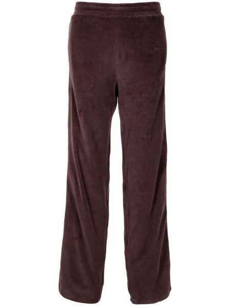 Спортивные брюки из полиэстера - коричневые Y Project