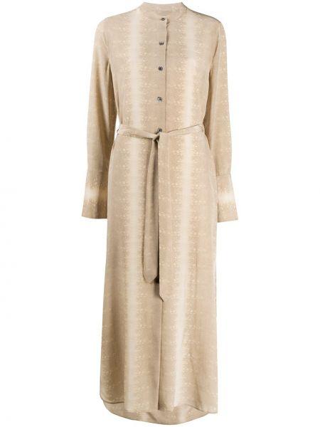 Платье макси на пуговицах платье-майка Equipment