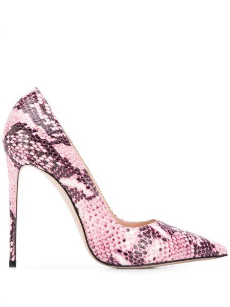 Лодочки на каблуке - розовые Le Silla