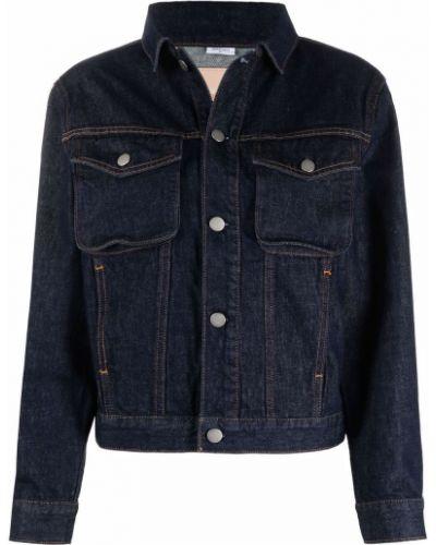 Хлопковая джинсовая куртка - синяя Ck Calvin Klein