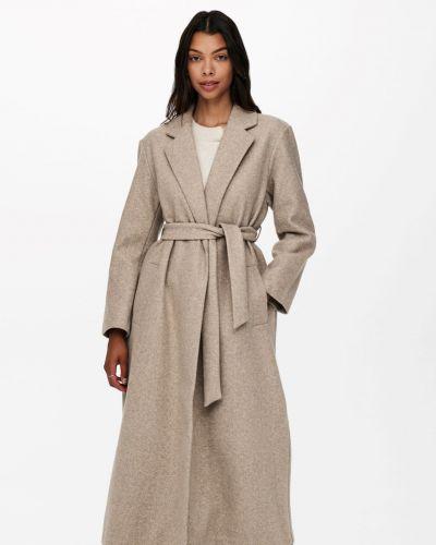Джинсовое пальто - серое Only