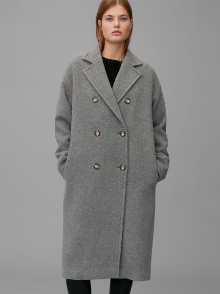 Текстильное брендовое пальто Marc O'polo