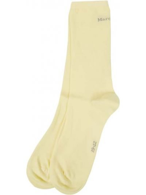 Żółte skarpety bawełniane Marc O'polo