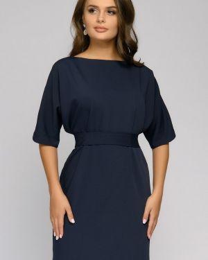 Платье с поясом платье-сарафан из вискозы 1001 Dress