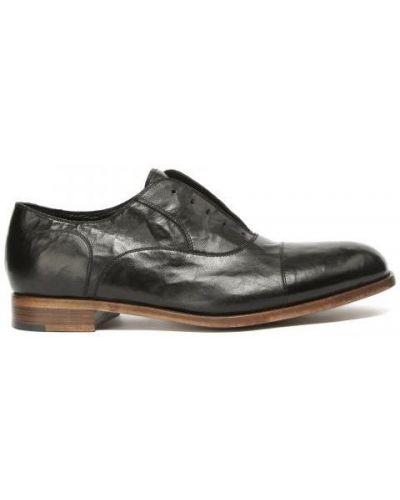 Туфли без шнуровки кожаные деловые Rocco P.