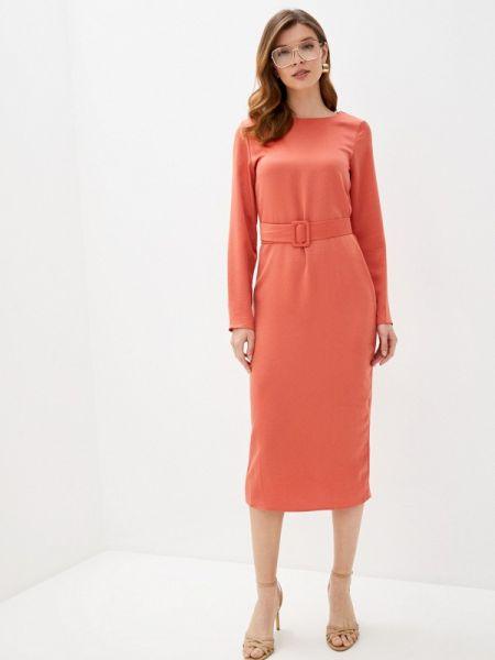 Платье коралловый прямое Trendyangel