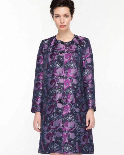 Фиолетовое пальто весеннее Gregory
