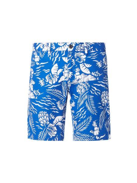 Niebieskie szorty chinosy bawełniane Tommy Hilfiger