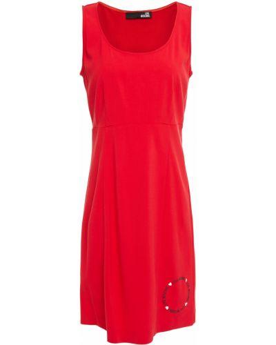 Трикотажное платье мини Love Moschino