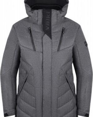Спортивная прямая куртка с капюшоном на молнии с карманами VÖlkl