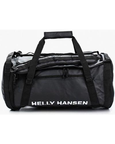 Спортивная сумка кожаная текстильная Helly Hansen