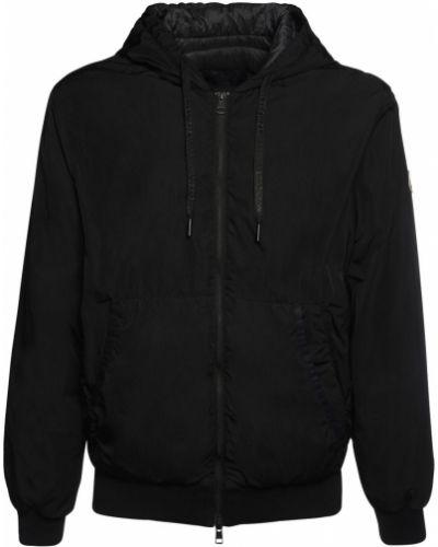 Пуховая куртка с капюшоном на молнии с капюшоном Moncler