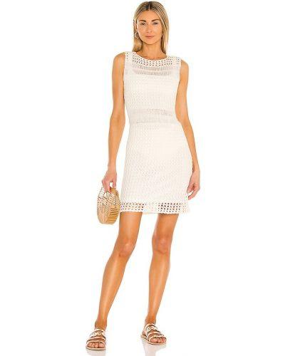 Текстильное платье с подкладкой с открытой спиной винтажное Line & Dot