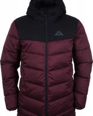 Утепленная куртка коричневый Kappa