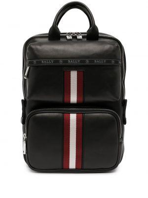 Кожаный рюкзак - черный Bally