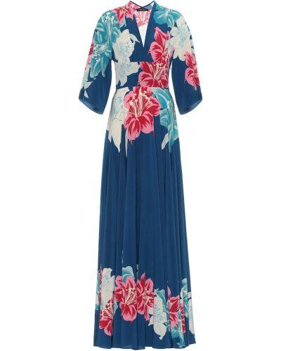 Летнее платье в стиле бохо с цветочным принтом Etro