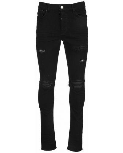 Czarne mom jeans Amiri