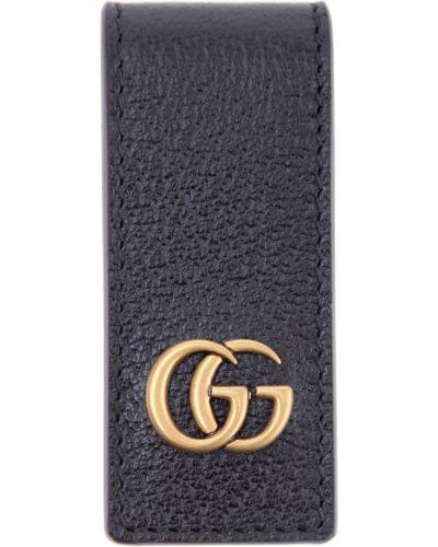 Брелок металлический кожаный Gucci